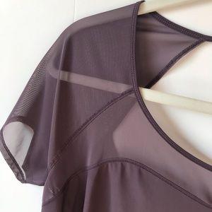 lululemon athletica Tops - Lululemon Top Anew Short Sleeve TeeMesh Size 10